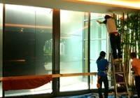 ติดฟิล์มกระจก อาคาร ลานแสดงงู อ่อนนุชลาดกระบัง 3M Scothtint Film