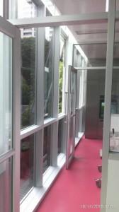 ติดฟิล์มอาคาร โรงพยาบาลเจตรินทร์ Fx Hp20
