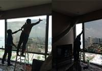 ติดฟิล์ม ลดความร้อน Condominium Star View พระราม 3