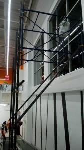 ติดฟิล์มกรองแสงอาคาร โลตัส